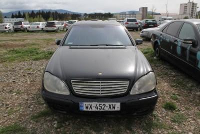 MERCEDES BENZ S 500